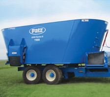 Patz Twin Screw Trailer Mixer