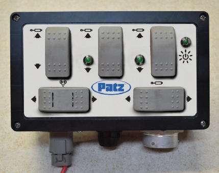 Hydraulic Control Center - Control Panel
