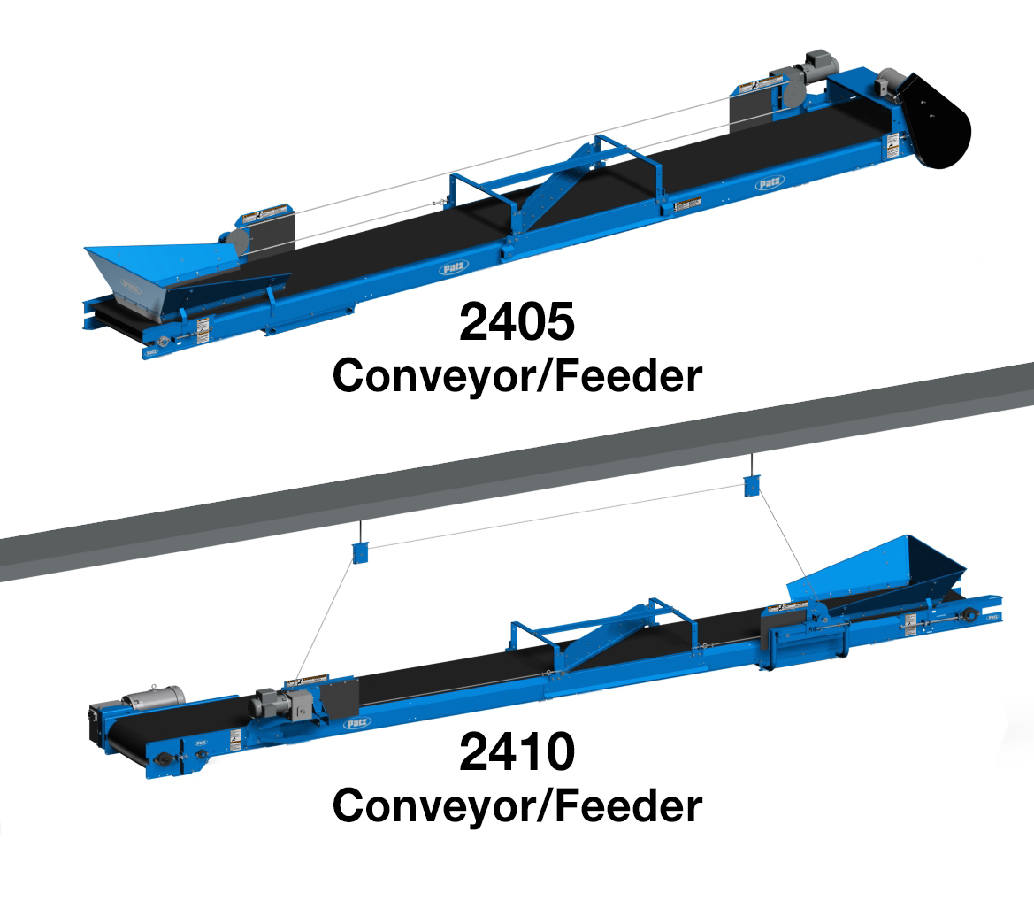 Patz 2405-2410 Conveyor-Feeder