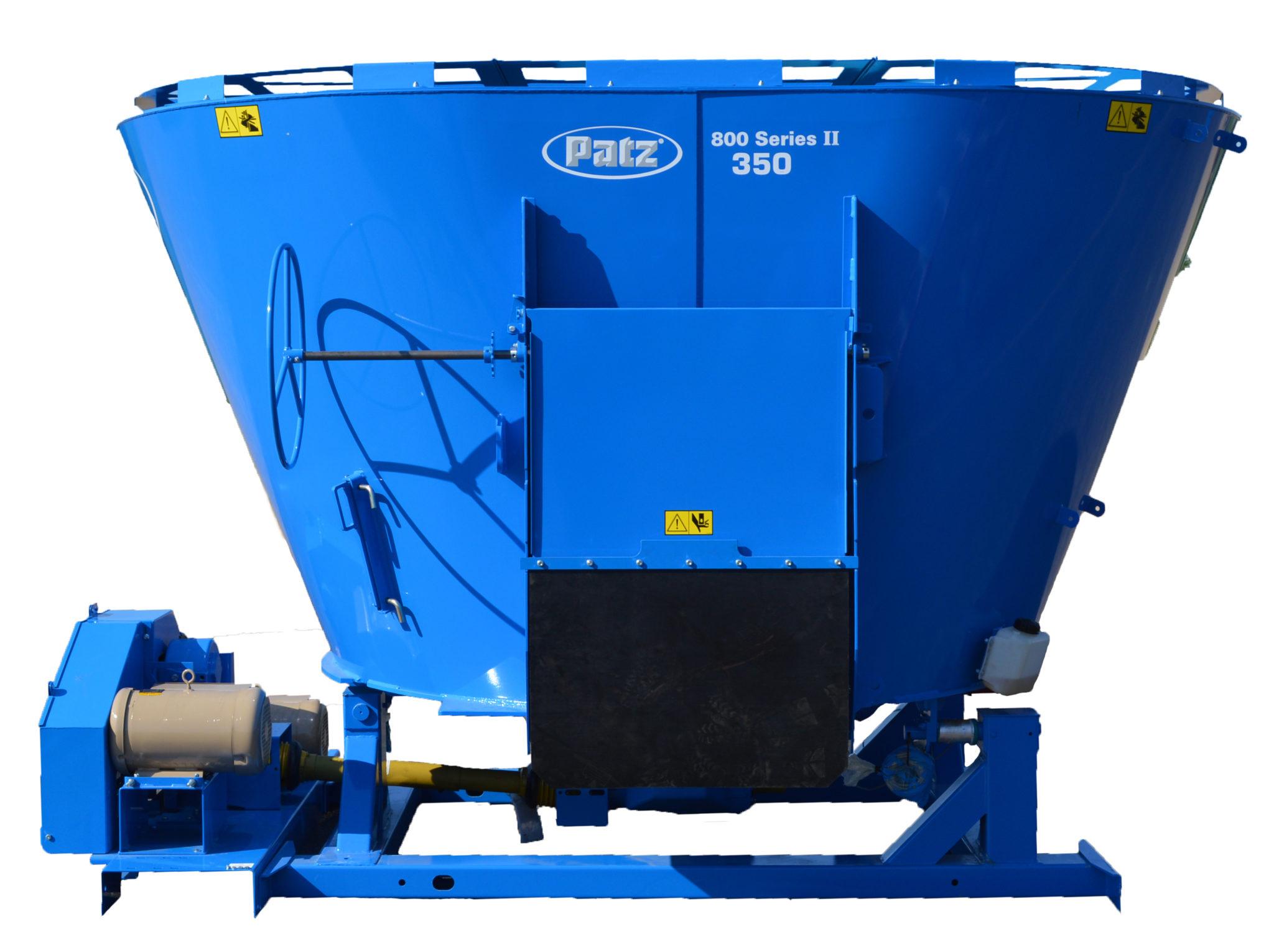 Patz 800 Series II Vertical Mixer